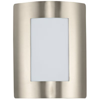 Maxim 64332WTSST View LED E26 LED 11 inch Stainless Steel Outdoor Wall Sconce