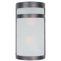 Maxim 65002FTOI Arc LED E26 LED 12 inch Oil Rubbed Bronze Outdoor Wall Mount