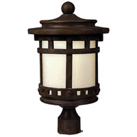 Maxim 65036MOSE Santa Barbara LED E26 LED 16 inch Sienna Outdoor Pole/Post Mount