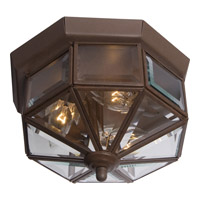 Maxim Lighting Signature 3 Light Flush Mount in Country Stone 6503CLCS