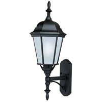 Maxim 65103BK Westlake LED E26 LED 24 inch Black Outdoor Wall Mount