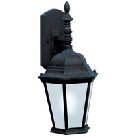 Maxim 65104BK Westlake LED 19 inch Black Outdoor Wall Mount