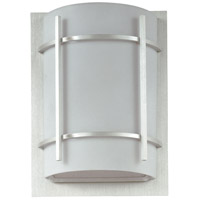 Brushed Metal Outdoor Wall Lights