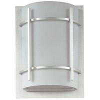 Maxim 65215WTBM Luna LED E26 LED 12 inch Brushed Metal Outdoor Wall Mount