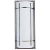 Maxim 65216WTBM Luna LED 21 inch Brushed Metal Outdoor Wall Mount