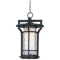 Maxim 65788WGBO Oakville LED E26 LED 12 inch Black Oxide Outdoor Hanging Lantern