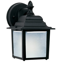 Maxim 66924BK Builder Cast LED E26 LED 9 inch Black Outdoor Wall Mount