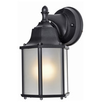 Maxim 66926BK Builder Cast LED E26 LED 10 inch Black Outdoor Wall Mount