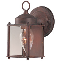 Maxim Lighting Side Door 1 Light Outdoor Wall Mount in Country Stone 6879CLCS
