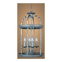 Maxim Lighting Cage 4 Light Pendant in Matte Silver 7112MS