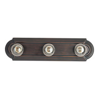 Maxim Lighting Essentials 3 Light Bath Light in Country Stone 7123CS