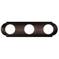 Maxim 7123OI Essentials 3 Light 18 inch Oil Rubbed Bronze Bath Light Wall Light alternative photo thumbnail