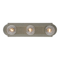 Maxim Lighting Essentials 3 Light Bath Light in Pewter 7123PE