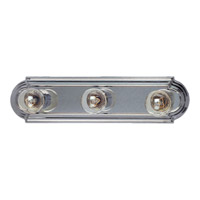 Maxim 7123SN Essentials 3 Light 18 inch Satin Nickel Bath Light Wall Light