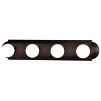 Maxim Lighting Essentials 4 Light Bath Light in Oil Rubbed Bronze 7124OI
