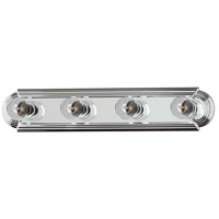 Maxim 7124PC Essentials 4 Light 24 inch Polished Chrome Bath Light Wall Light