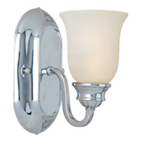 Maxim Lighting Essentials 1 Light Wall Sconce in Polished Chrome 7135MRPC photo thumbnail