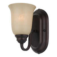 Maxim Lighting Essentials 1 Light Wall Sconce in Oil Rubbed Bronze 7135WSOI