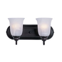 Maxim Lighting Essentials 2 Light Bath Light in Oil Rubbed Bronze 7136MROI
