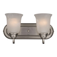 Maxim Lighting Essentials 2 Light Bath Light in Satin Nickel 7136MRSN