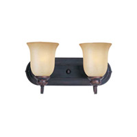 Maxim Lighting Essentials 2 Light Bath Light in Oil Rubbed Bronze 7136WSOI