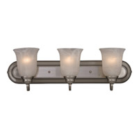 Maxim Lighting Essentials 3 Light Bath Light in Satin Nickel 7137MRSN