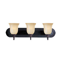 Maxim Lighting Essentials 3 Light Bath Light in Oil Rubbed Bronze 7137WSOI