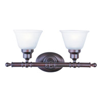 Maxim Lighting Essentials 2 Light Bath Light in Oil Rubbed Bronze 7142FTOI photo thumbnail