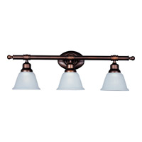 Maxim Lighting Essentials 3 Light Bath Light in Oil Rubbed Bronze 7143FTOI