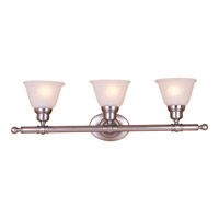 Maxim Lighting Essentials 3 Light Bath Light in Satin Nickel 7143FTSN