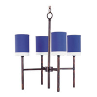 Maxim Lighting Lido 4 Light Single Tier Chandelier in Oil Rubbed Bronze 75063RWOI