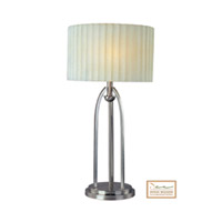 Maxim Lighting Flute 2 Light Table Lamp in Satin Nickel 75198PMSN