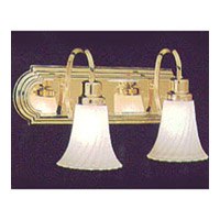 Maxim Lighting Signature 2 Light Bath Light in Polished Brass 8002FTPB