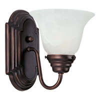 Maxim Lighting Essentials 1 Light Wall Sconce in Oil Rubbed Bronze 8011MROI