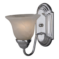 Maxim Lighting Essentials 1 Light Wall Sconce in Polished Chrome 8011MRPC photo thumbnail