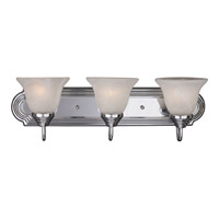 Maxim Lighting Essentials 3 Light Bath Light in Polished Chrome 8013MRPC