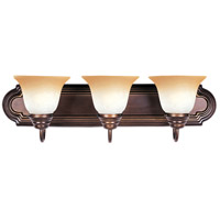 Maxim 8013WSOI Essentials - 801x 3 Light 24 inch Oil Rubbed Bronze Bath Light Wall Light in Wilshire