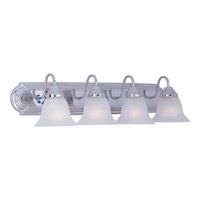 Maxim Lighting Essentials 4 Light Bath Light in Polished Chrome 8014MRPC photo thumbnail