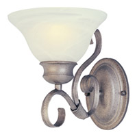 Maxim Lighting Pacific 1 Light Wall Sconce in Pewter 8021MRPE