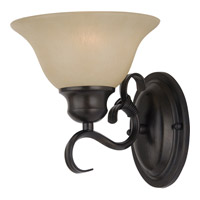 Pacific 1 Light 8 inch Kentucky Bronze Wall Sconce Wall Light in Wilshire