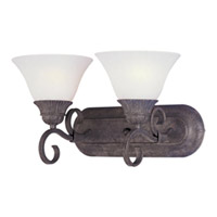 Maxim Lighting Canyon Rim 2 Light Wall Sconce in Canyon Rock 8027SVCR