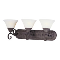 Maxim Lighting Canyon Rim 3 Light Bath Light in Canyon Rock 8028SVCR
