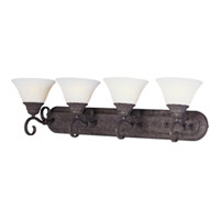 Maxim Lighting Canyon Rim 4 Light Bath Light in Canyon Rock 8029SVCR