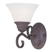 Maxim Lighting Canyon Rim 1 Light Wall Sconce in Canyon Rock 8030SVCR