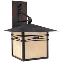 Maxim Lighting Taliesin 1 Light Outdoor Wall Mount in Burnished 8042IRBU
