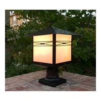 Maxim Lighting Taliesin 1 Light Outdoor Pole/Post Lantern in Burnished 8044IRBU alternative photo thumbnail