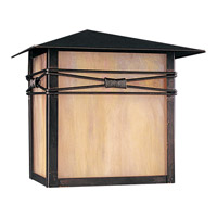 Maxim 8047IRBU Taliesin 1 Light 10 inch Burnished Outdoor Wall Mount
