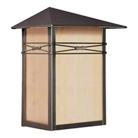 Maxim Lighting Taliesin 1 Light Outdoor Wall Mount in Burnished 8048IRBU