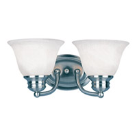 Maxim Lighting Malaga Energy Efficient 2 Light Bath Light in Satin Nickel 82687MRSN