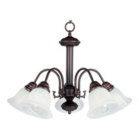 Maxim Lighting Malaga Energy Efficient 5 Light Down Light Chandelier in Oil Rubbed Bronze 82698MROI